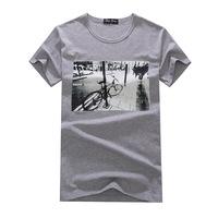 2014 latest fashion men's short-sleeved T-shirt short-sleeved cotton T-shirt printing personalized T shirt