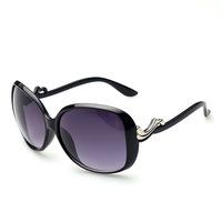 Women's Retro Round Eyeglasses Sunglasses Original case Newest cat eye Classic brand len box glasses sunglasses women vintage C