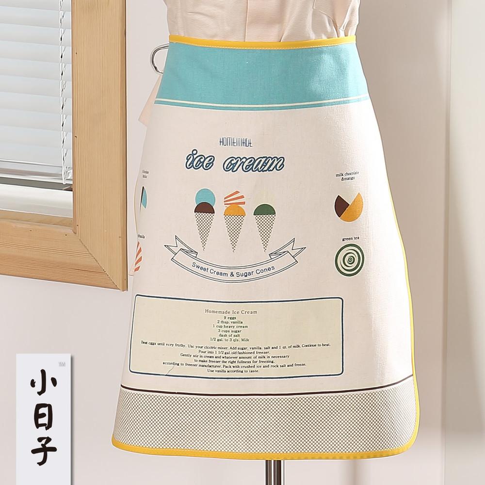 Xiaorizi ice cream cones apron sleeveless apron cheese pasta Organic Farm(China (Mainland))