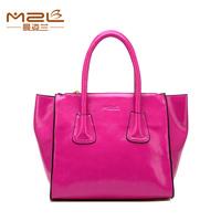 Happy! Smile Bag High quality Famous Brand Oil Waxing Leather women bag Fashion women handbags Beautiful shoulder messenger bags