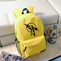 Free shipping American professional wrestling John Sena Punk Randy Locke Men and women backpack schoolbag DIY made