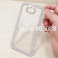 For LG L70 Cases Crystal Bling Cover For LG L70 D320 D325 Phone Case Rhinestone Diamond Cover For LG L70 Luxury 3D Free Shipping