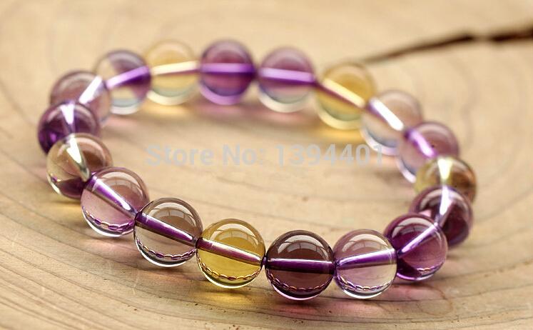 2014 women bracelet jewelry Strand Bracelets Crystal Pure natural Lucky transporter 1cm Trendy(China (Mainland))