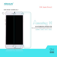 NILLKIN Amazing 9H Nanometer Anti-Explosion Tempered Glass Screen Protector Film For APPLE iPhone 6 4.7inch + Retail+ Free Ship