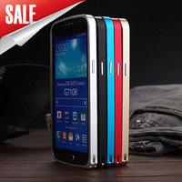 Luxury Ultra-thin Aluminium Metal Frame Case for Samsung G7106 G7102 G7108 Galaxy Grand 2 Metal Bumper Phone Case