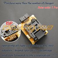 TQFP32 QFP32 test socket for AVR ISP test  mega8 mega48 mega88  adapter