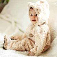 2014 New Winter Baby Rompers For Boys Girls Kids Onesie Suit Costume Child Autumn Jumpsuits Clothing 0-2T
