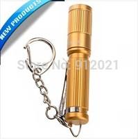 Olight i3S EOS CREE XP-G2 80-lumens Aluminum Alloy Waterproof Mini LED Flashlight with Keychain (Golden)