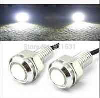 2PCS 9W White Car Eagle Eye Lights LED Car Daytime Running Lights Tail Backup Car Motor DRL Lamp Lights  #C113A