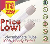 T8 LED Tube Light 1200mm 18W led tube 120cm SMD2835 4ft Super Brightness Cool white Led Bulbs Tubes AC220V Milky Cover 1000pcs