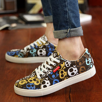 2014 Camouflage autumn fashion shoes sneaker boys skateboarding shoes trend