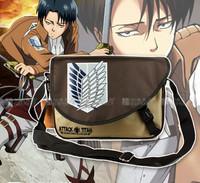 Hot Sale Attack On Titan Menssenger Bag Men's High Quality Anime School Bag Shoulder Bag