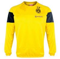 Free shipping Tai edition quality 2015 borussia Dortmund yellow long-sleeved sweater 14-15 BVB long sleeves training fleece