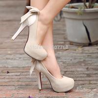 FREESHIPPING 2014 Princess High-heeled Shoes Scrub Thin Women's Platform Heels Shallow Mouth Plus Size pump B-P-6801