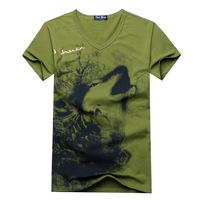 2014 summer newest men's T shirt cotton Personalized T-shirt top brand fashion T shirt