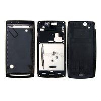 Original Full Housing Cover Case for Sony Ericsson Xperia Arc S LT15i LT18i 1pc/lot Free shipping BlACK