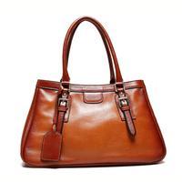Women's bag 2015 Vintage Business Women handbag 100% Genuine leather Shoulder bag for women Gradient color Fashion casual bags