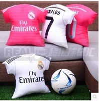 14-15 new season Real Madrid home and away jerseys  Pillow  45CM tuba,  Ronaldo J Robert Ramos Benzema Cushion