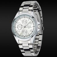 Wholesale Brand Nary Stainless Steel Watch Men Fashion Sports Quartz Watches Fashion Clock Hour Are Man 6050