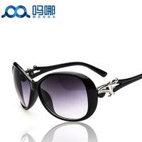 2014 Hot sale Free Shipping with Original case Newest cat eye Classic brand len box glasses sunglasses women vintage C