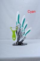 New ceramic knife Home Kitchen Knife Set peeling paring utility chef knife with Peeler Acrylic Holder