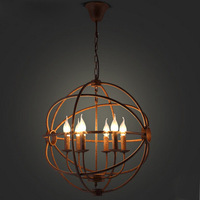 RH Loft Classic retro vintage metal pendant lights restaurant study bed room clubs light coffee bar dining room pendant lamps