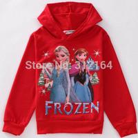 Kids Hoodies Clothing Children Outerwear Coats Girls Brand Winter Autumn Roupas Infantil Frozen Anna Elsa Cartoon Jacket BOS.F12