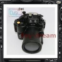 Waterproof Underwater Diving Dive Camera Housing Case for Olympus OMD OM-D EM1 E-M1 12-40mm PP227