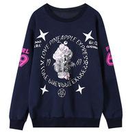 DX-11 Women sports clothing HIPHOP Star Casual Harajuku Zipper Loose Long sleeve Skull Fleece Jogging sweetshirt Pullover