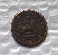 1743 Russia Copper COIN COPY FREE SHIPPING