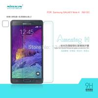 Original NILLKIN Amazing H Nanometer Anti-Explosion Tempered Glass Screen Protector Film For Samsung Galaxy NOTE 4 N9100 + BOX