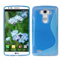100pcs/Lot TPU S  Line GEL Case Cover for  LG G3 D850