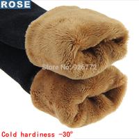 HOT 2015 Cold Hardiness  Warm Winter Thickening Velvet Legging Women High Elastic Waist