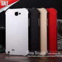 Ultrathin Anti Scratch Matte Metal Aluminum Hard Case for Samsung Galaxy Note 2 II N7100 Mobile Phone Bag Case cover