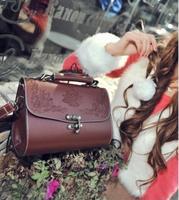 Free shipping famous popular women's handbag shoulder bag gypsy retro carved bag crossbody bag