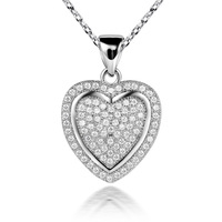 LB-0109,Accessories 925 sterling silver-plated jewelry pendant necklace pentagram coupon with zircon or crystal free shipping