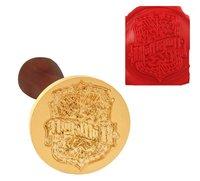 New Vintage Harry Potter Hufflepuff School Badge Magic Academy Wax Seal Stamp Rosewood Handle Set
