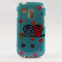 New 2014 TPU cute Owl mobile phone shell For Samsung Galaxy S Duos s7562 7562 mobile phone case cover