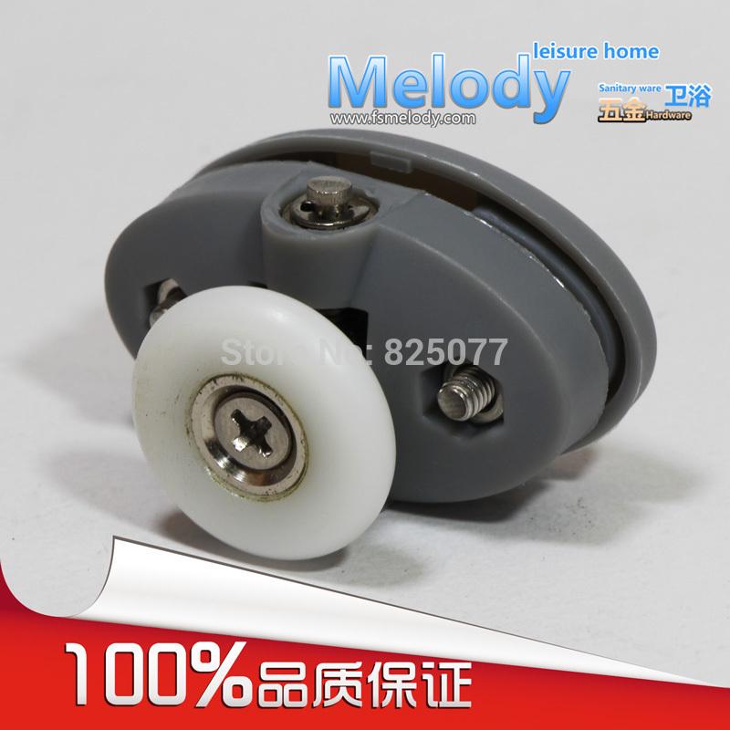 Me-005 Top single roller shower room wheel bath screen accessories Bathroom fittings(China (Mainland))
