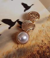 Wholesale Hair Jewelry Fashion Love Ocean Hair Pins Barrettes Shell Faux Pearl Anchor Women Designer 9875