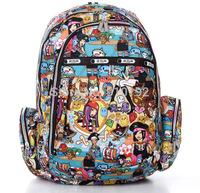 Flower Spring wrestlers color retention after schoolbags backpack multicolor
