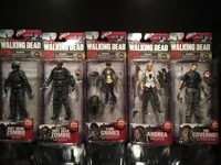 McFarlane Toys 6inch Walking Dead TV 4TH  SET  5PCS/SET action figures new box in stock now