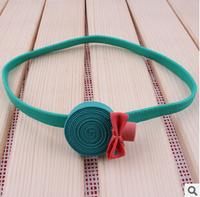 Sweet Candy Comfortable Children Baby Elastic Hairwrap Headwear Free Shipping 100PCS/LOT