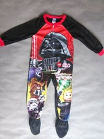 Retail one piece free shipping baby clothing boy boys long sleeve with fleet romper  fleece rompers star wars