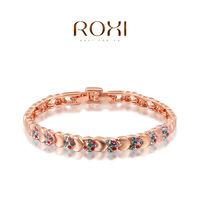 ROXI  Wholesale Rose Gold Plated Austrian crystal bracelets fashion jewelry 20141019-8