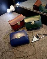 2014 new small vintage mortise lock bag shoulder diagonal bag purse mini bag FC-661 retro