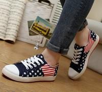 2014 new wholesale Korean fashion shoes breathable shoes casual women canvas shoes