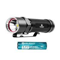 Olight S20-L2 Side-switch LED Flashlight 550 Lumens Magnet W/18650 2600mAh Battery