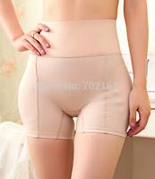 Shapewear Women's Seamless High Waist Boyshort Slimmer Tummy Control BUTT & HIP Black Beige Free Shipping