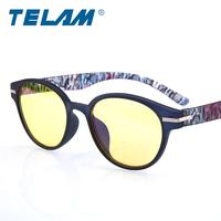 Computer radiation-resistant glasses pc mirror male Women glasses plain big box blu ray
